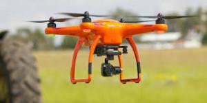 orange drone